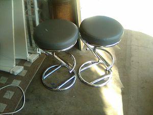 Chrome bar stool for Sale in Long Beach, CA