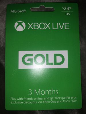 Xbox live gold for Sale in Union City, NJ