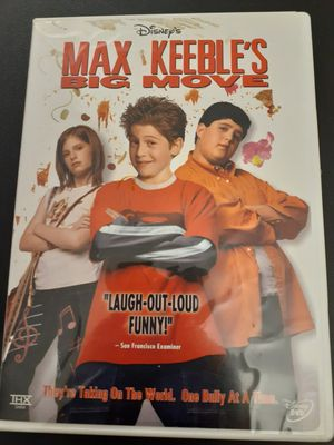 Disney's MAX KEEBLE'S BIG MOVE (DVD) for Sale in Lewisville, TX