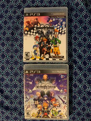 Kingdom Hearts HD 1.5 Remix PS3/Kingdom Hearts HD 2.5 Remix PS3 for Sale in Whittier, CA