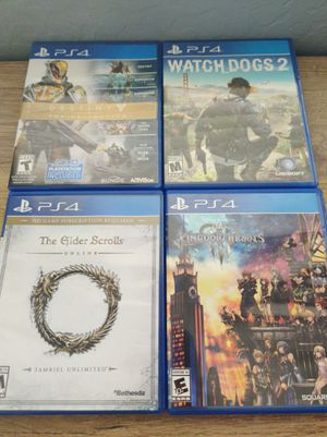 PS4 Games for Sale in Florence, AZ