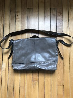 Coach Messenger Bag-Charcoal for Sale in Indianapolis, IN