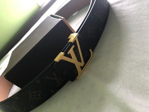 Louis Vuitton belt size 32-34 for Sale in St. Louis, MO