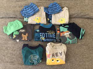Toddler boy Pajamas - size 2T- 17 pieces for Sale in Phoenix, AZ