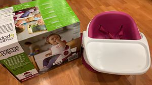 Mamas & Papas Baby Bud Booster seat Raspberry for Sale in Hillsboro, OR