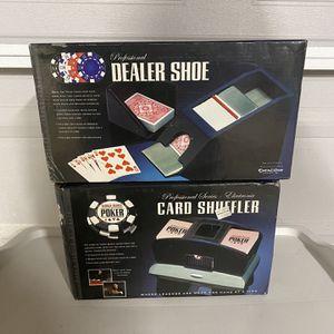 Poker Dealer Shoe & Card Shuffler for Sale in Buena Park, CA