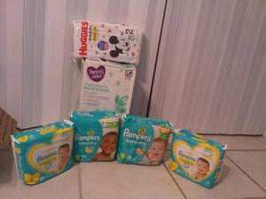 Pampers brand bundle for Sale in Homestead, FL