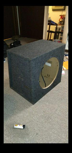 12 inch box with sub for Sale in Minneapolis, MN