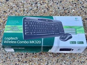 Logitech Wireless Keyboard and Mouse for Sale in Rockwall, TX