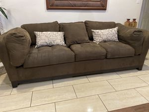 Brown sofa for Sale in Fort Worth, TX