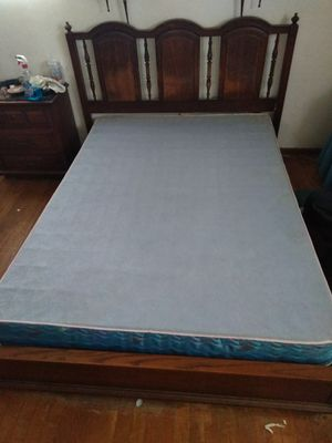 MUST GO TODAY!ONLY $50! Full Bed frame with head board. Pick up in Shavertown. $60 for Sale in Shavertown, PA
