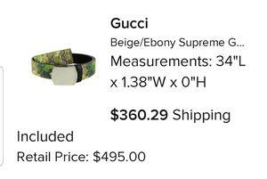Gucci belt for Sale in Louisville, KY