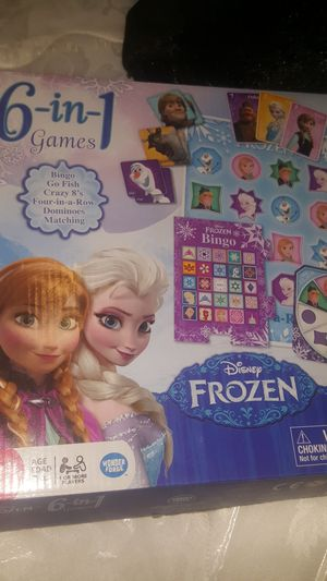 Frozen 6 in one game for Sale in Sacramento, CA