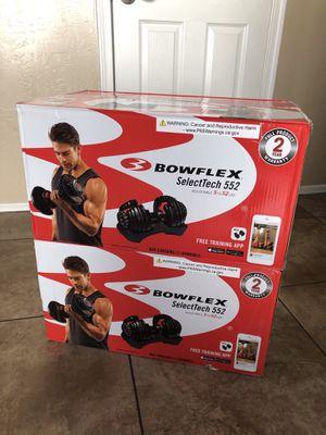 Bowflex Adjustable Dumbbells (Brand New) for Sale in Gilbert, AZ