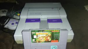 Super Nintendo with two controllers for Sale in Orlando, FL