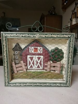 3D picture behind chicken wire for Sale in Milton, FL