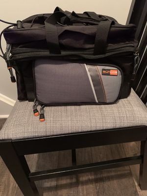 Sunlite bike bag rack pack cooler with panniers. for Sale in Monroeville, PA