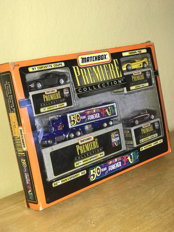 MATCHBOX Premium Collection- Limited Edition set of four Toys R Us Die-Cast Vehicles