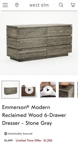 West Elm Emmerson 6-Drawer. Perfect Condition. for Sale in Los Angeles, CA