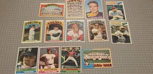 1960's & 70's Topps Baseball Cards HOF PLAYERS - lot of 13 for Sale in Glendora, CA