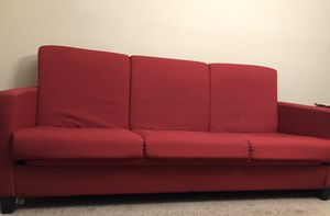 Red couch for Sale in Westlake, OH