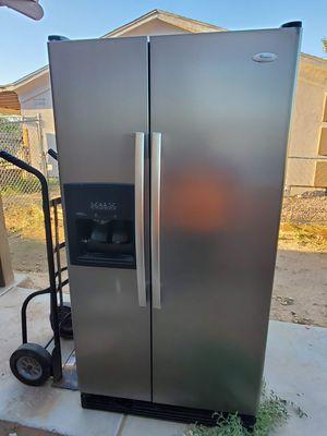 Stainless steel whirlpool refrigerator for Sale in Avondale, AZ