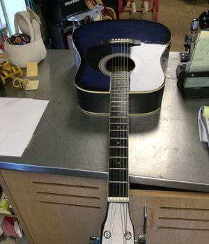 Blue Guitar for Sale in Matawan, NJ