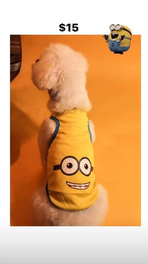 DOG CLOTHES / CARTOON SHIRT / CLOTH FOR DOGS Sizes M, L, XL, XXL for Sale in Los Angeles, CA