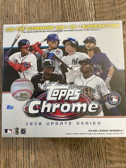 Topps Chrome 2020 Updates Series Box! Brand New And Sealed! for Sale in Long Beach,  CA