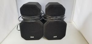 KLH Model 8S Audio System Speakers Shielded for Video Lot of 2 Twistable for Sale in El Paso, TX