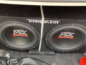 """2 12"""" Subwoofer for Sale in The Bronx, NY"""