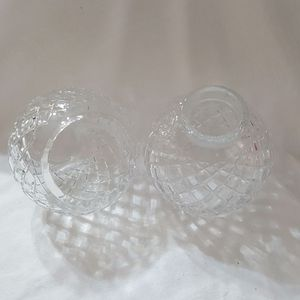 Pair of Crystal Lamp Shades for Sale in Houston, TX