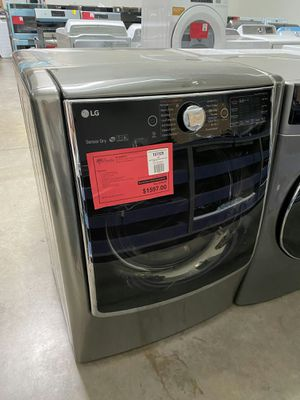 New LG Gray Smart WiFi Enabled Mega Capacity Gas Dryer ..1 Year Manufacturer Warranty Included for Sale in Chandler, AZ