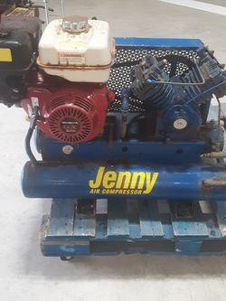 Honda Powered Jenny Air Compressor for Sale in Arlington,  WA