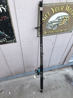 Abu Garcia Fishing rod and Penn Rail for Sale in Henderson, NV