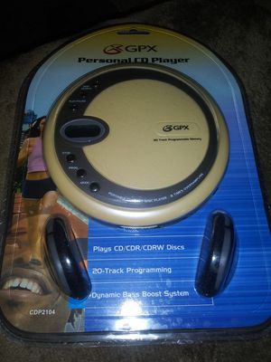 New CD personal player for Sale in La Verne, CA
