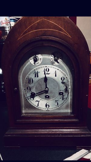 Clock made in Germany. Antique Clock. Collectible for Sale in Renton, WA