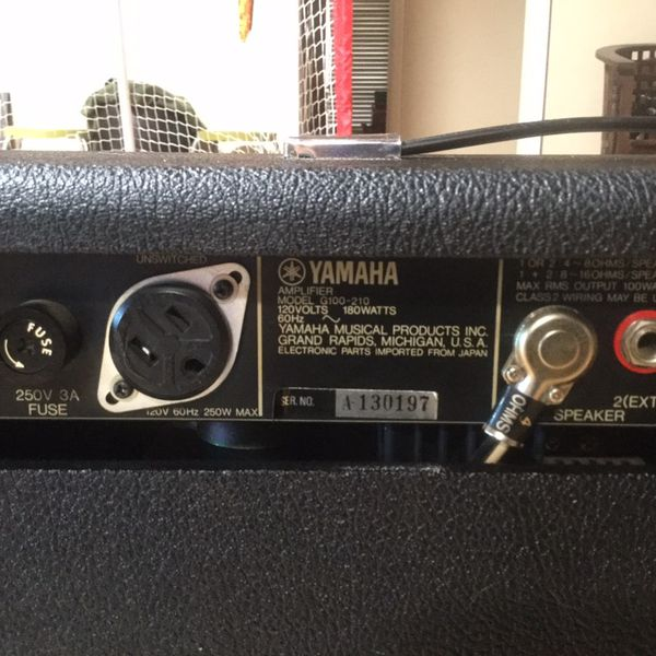 Yamaha G100-210 Vintage Amp for Sale in Scottsdale, AZ - OfferUp