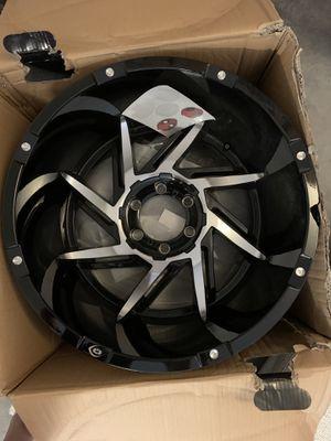 Vision 422 prowler black rims for Sale in Tarpon Springs, FL