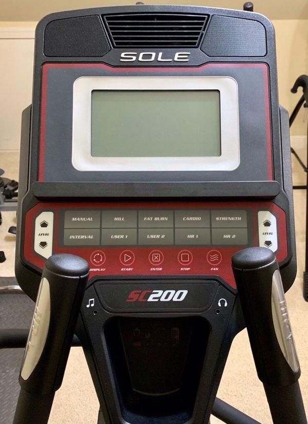 Sole Fitness SC200 Hybrid Elliptical & Stepper