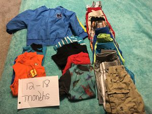 12 to 18 month boys clothes for Sale in Fort McDowell, AZ