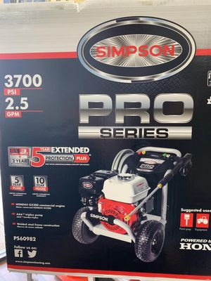 3700 PSI GAS HONDA MOTOR POWER WASHER BRAND NEW for Sale in Garland, TX
