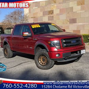 2013 Ford F150 Fx4 for Sale in Victorville, CA