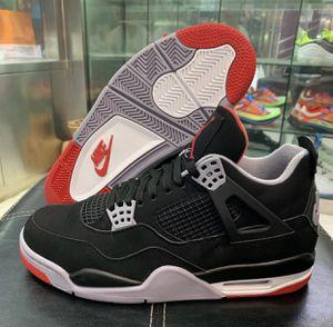 DEADSTOCK Nike Air Jordan Retro 4 bred 2019 size 13 for Sale in Falls Church, VA