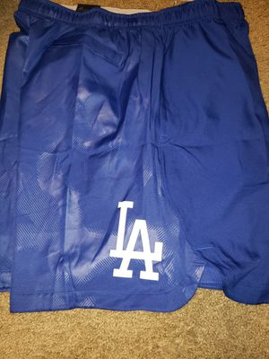 Los Angeles Dodgers Nike Authentic Collection Team Logo Performance Shorts - Royal Size 2XL for Sale in Downey, CA