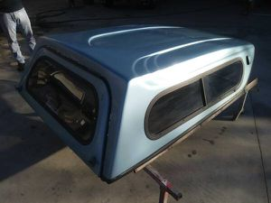 H4-009 Used Stockland Camper Shell for El Camino for Sale in South El Monte, CA