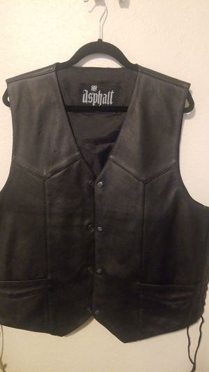 Leather Vest for Sale in Hoover, AL