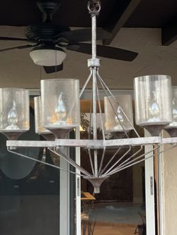 "27"" Chandelier- 6 Bulb for Sale in Miami,  FL"