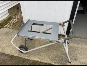 Rigid table saw cart for Sale in Virginia Beach, VA
