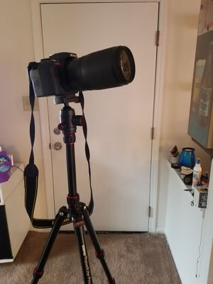 Nikon D3300, tripod, case and lenses for Sale in St. Louis, MO